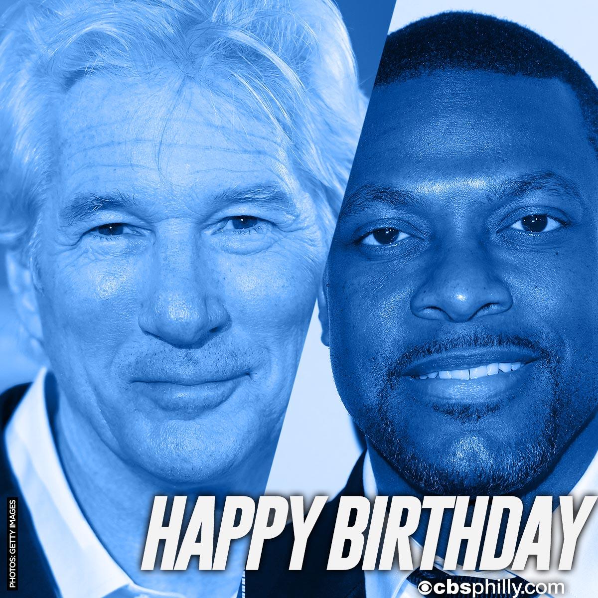 HAPPY BIRTHDAY Richard Gere & Chris Tucker!
