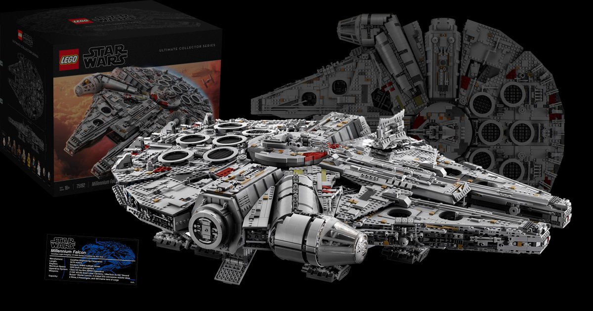 "The Brothers Brick on Twitter: ""New LEGO Star Wars 75192 UCS ..."