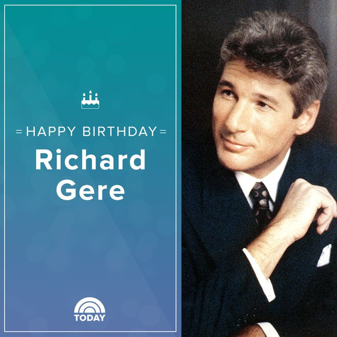 Happy birthday to our favorite officer and gentleman, Richard Gere!