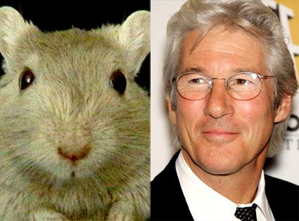 """Happy Birthday to Richard Gere! Something, something, gerbils! *rim shot* - all of message today, apparently."