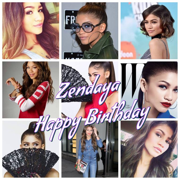 Happy Birthday Zendaya