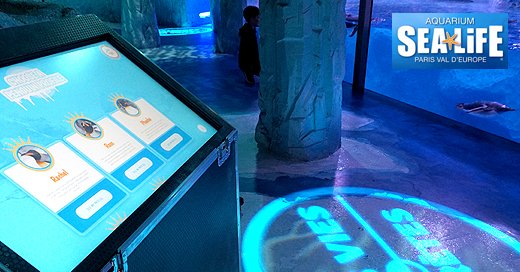 Another successful digital installation, this time for SeaLife Paris. Well done team and thanks to Merlin #sealifeparis #digital