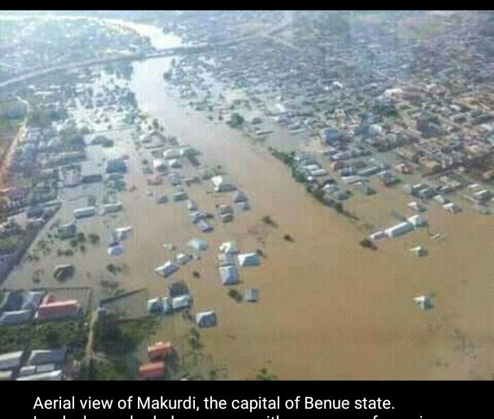The National Emergency Management Agency (NEMA) has deployed a team to provide humanitarian services to victims of floods in Makurdi, Benue state.