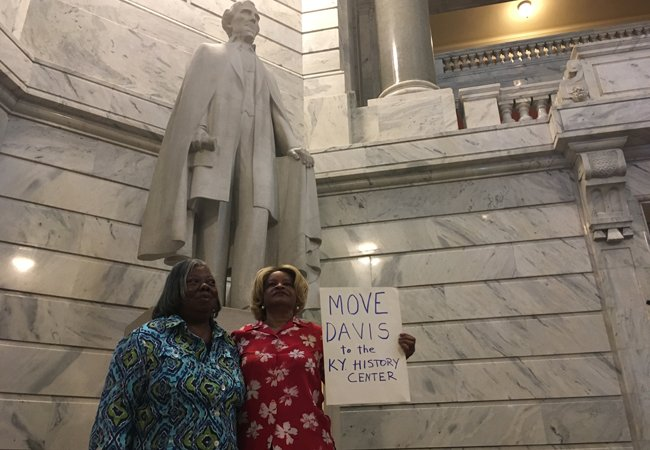 Black leaders call for removal of Confederate President Jefferson Davis statue #FoxNewsUS https://t.co/IvGtaa1ZYB