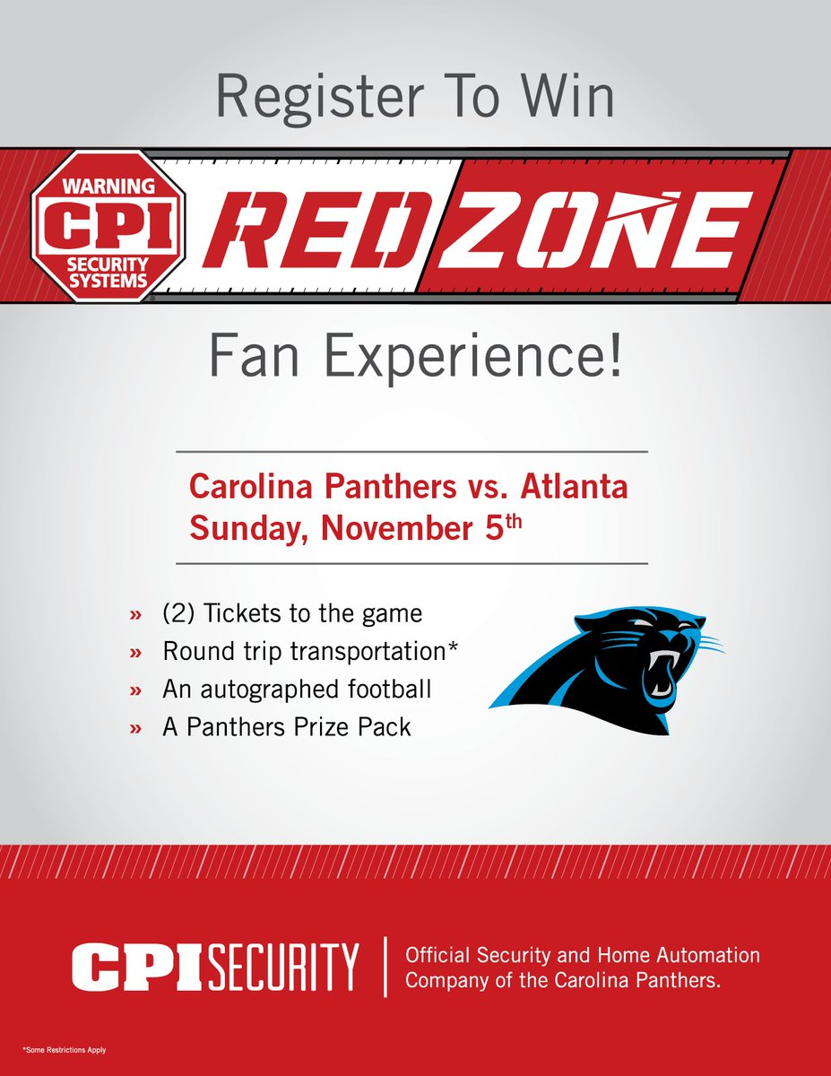cpi security cpi security twitter cpi is giving away an exclusive game day experience to see your panthers at home to register visit https cpisecurity com sweeps panthers
