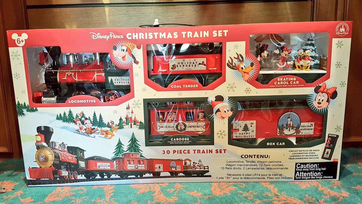 ed92 on twitter disney parks christmas train set 12999