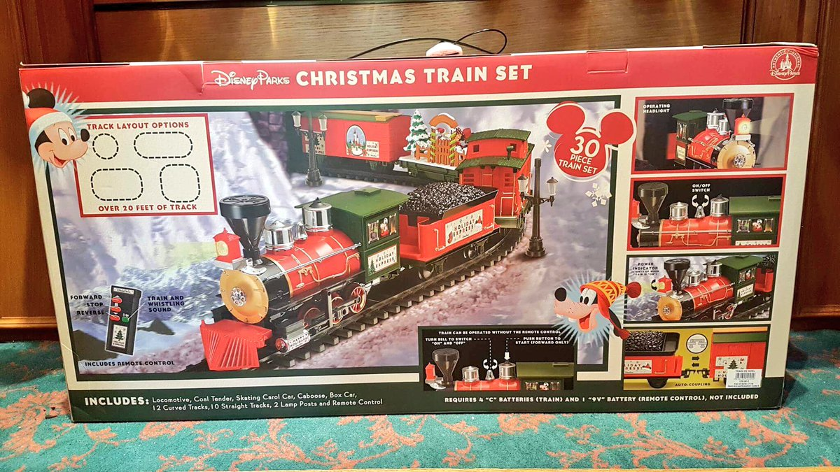 ed92 on twitter disney parks christmas train set 12999 - Disney Christmas Train