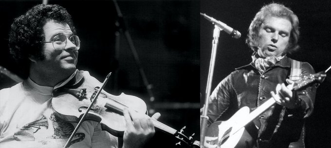 Itzhak Perlman & Van Morrison were born on the exact same day, August 31, 1945. Happy Birthday!