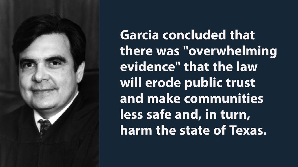 San Antonio Federal Judge Orlando Garcia Blocks Implementation of Texas&#39; So-Called &quot;Sanctuary Cities,&quot; Law   http:// ow.ly/Ixso30eP0sv  &nbsp;   #txlegal <br>http://pic.twitter.com/7p9BnbR6X7