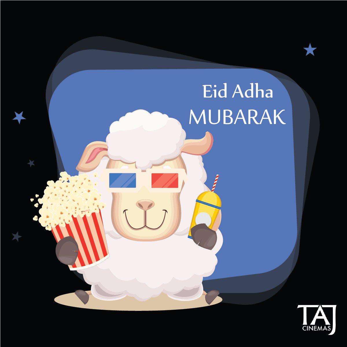 Eid Adha Mubarak to everyone. #TAJCinemas #Movies #EidAlAdha #Jo #Amman https://t.co/j9Klc1OVyt
