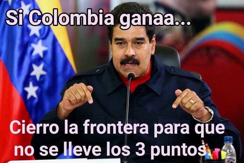 😂 #VamosColombia #EliminatoriasRusia2018 Tweet added by