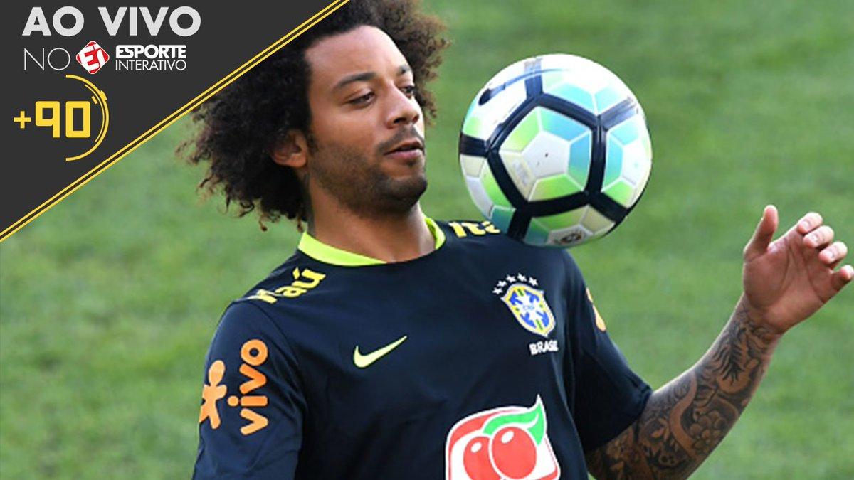 Marcelo será o capitão da seleção brasileira de Tite! Gosta do rodízio promovido pelo treinador? #Mais90