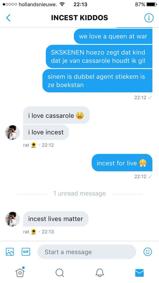 incest message