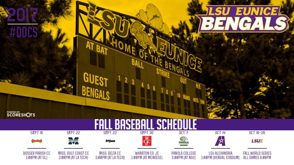 make a baseball schedule