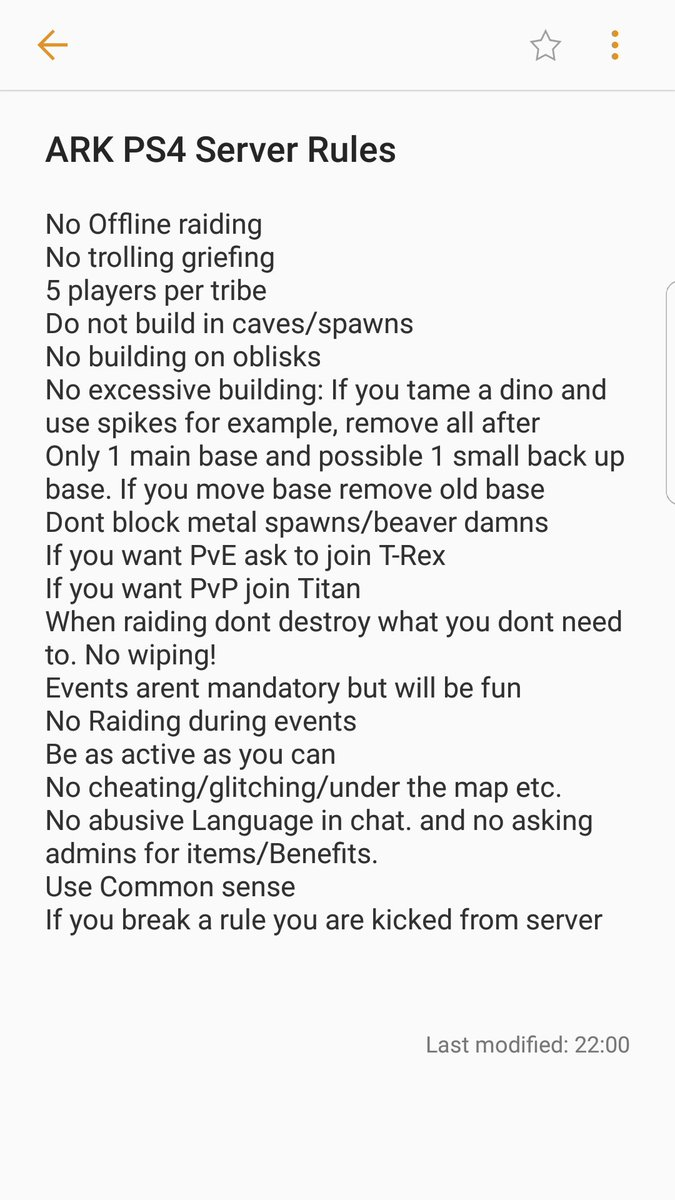 Ark Server Requirements