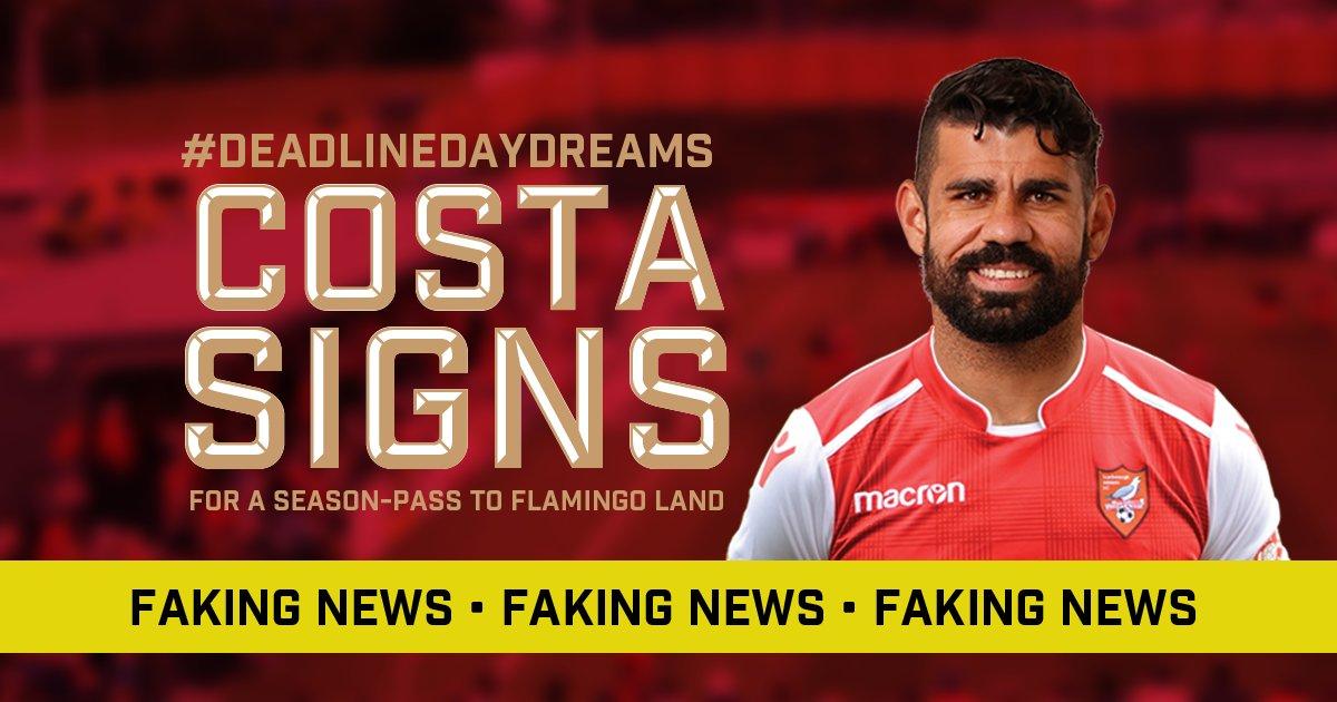 BREAKING NEWS: It's the Costa-Del-Seadog for Diego... #TransferDeadline #Transfer https://t.co/aovr8vNurp