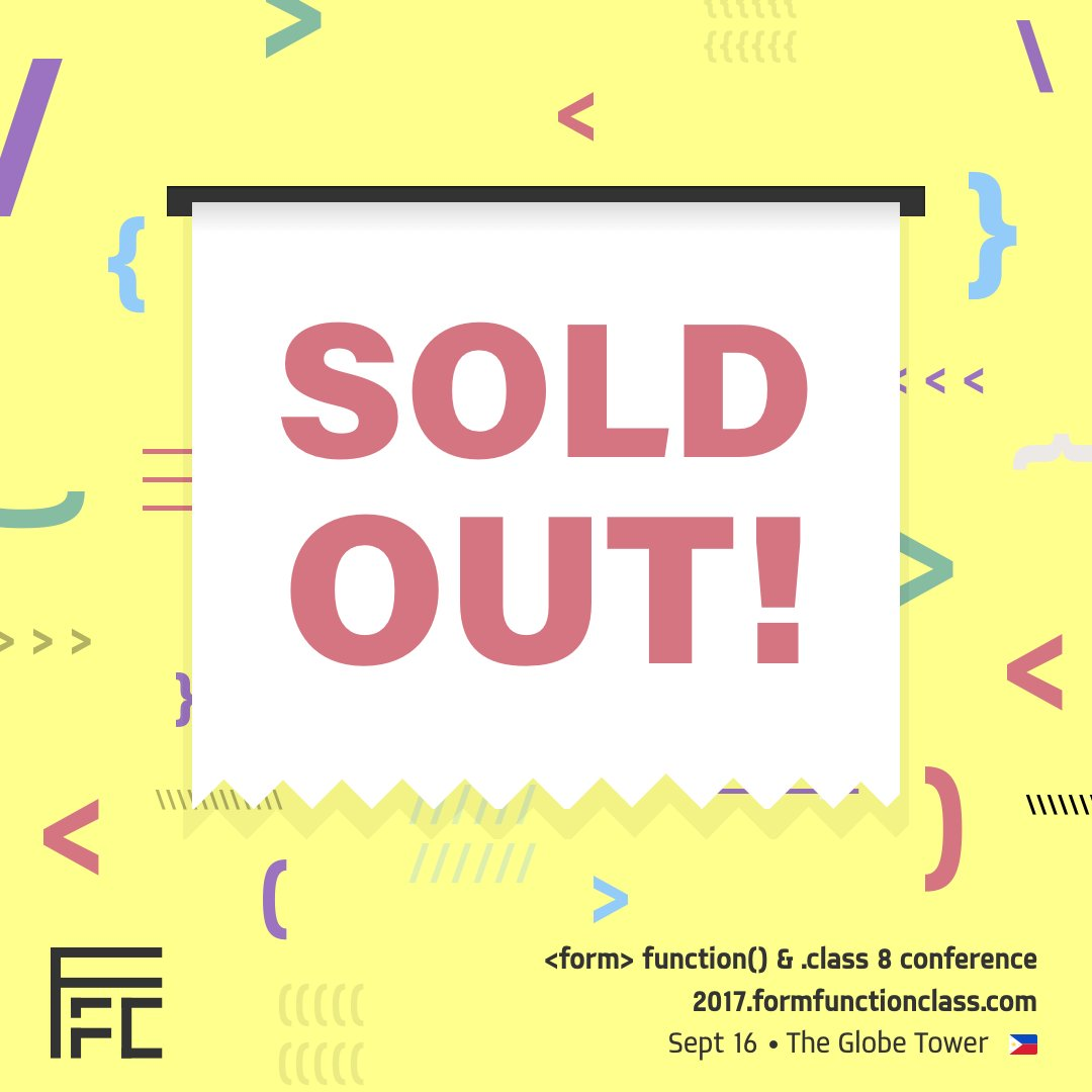 FFC8 sold out