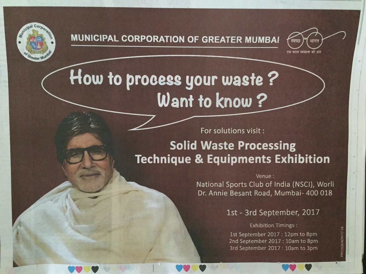 No, thank you @SrBachchan Sir! We already know. We either elect them as #BMC #Corporators or appoint them as #BMC #Commissoners<br>http://pic.twitter.com/q3ZOix1f2L