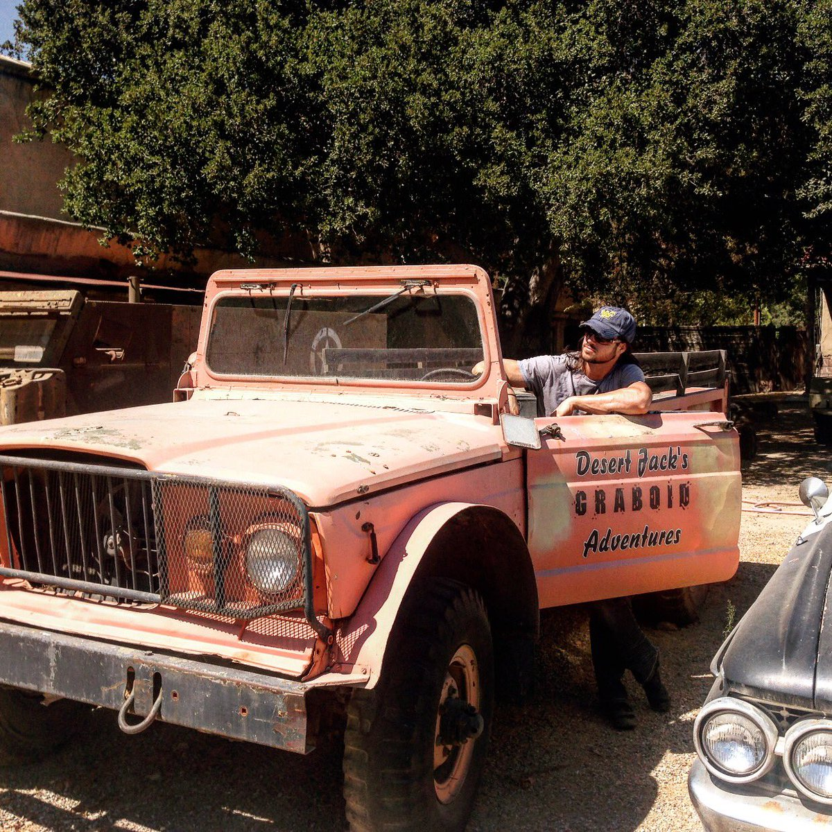 John Morrison On Twitter Tbt Location Scouting 4 Boonethebountyhunter At Melody Ranch Marked Out The Desert Jack S Truck From Tremors