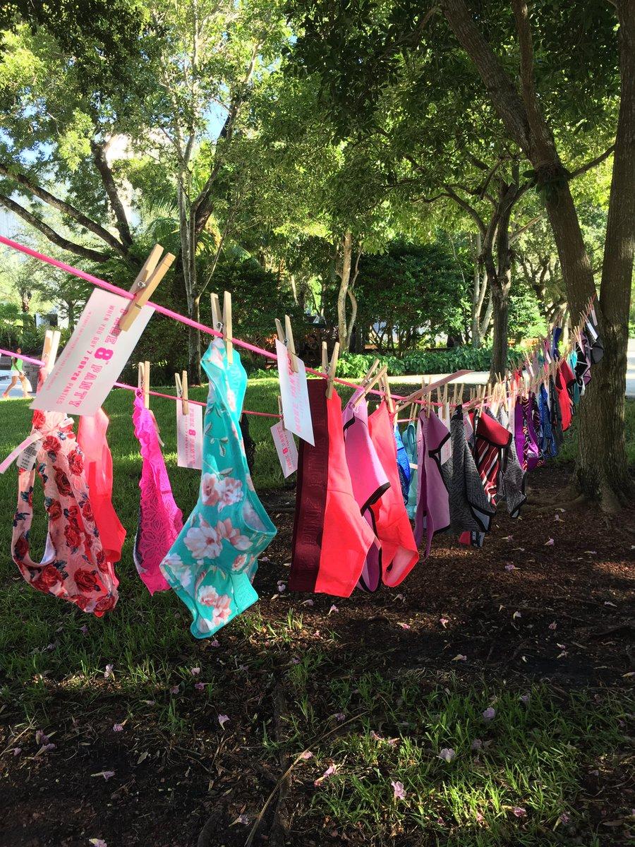 panties in a tree