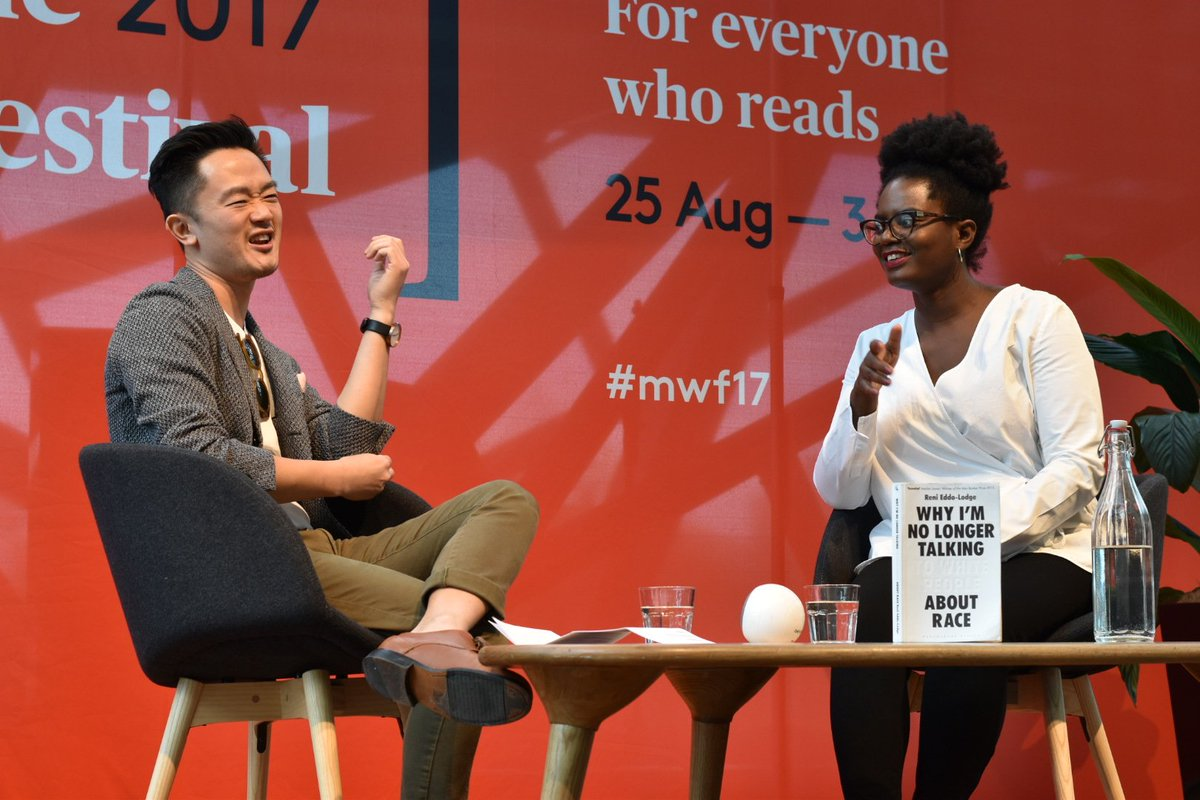 """""""I do not have the luxury of not thinking about race... if I did I'd probably be a botanist"""" @renireni #MWF17 https://t.co/mQ10YyEdnh"""
