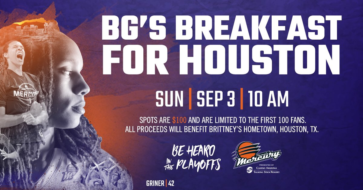 Get your tickets to have breakfast with BG this Sunday! ALL proceeds will benefit Houston!  Promo code: HOUSTON  https://oss.ticketmaster.com/aps/mercury/EN/link/promotion/home/2ed71b552e52a89540bfe1bee086ce60dba90176 …