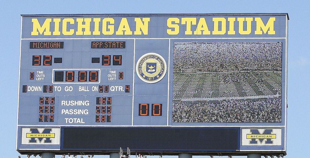 10 years ago today, Appalachian State pulled off one of the greatest upsets in college football history