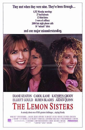 🎬MOVIE HISTORY: 27 years ago today, August 31, 1990 the movie 'The Lemon Sisters' opened in theaters!  #DianeKeaton #CarolKane #KathrynGrody