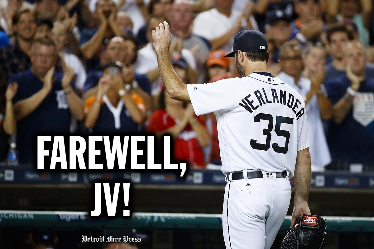You're one of a kind, @JustinVerlander. We'll miss you. https://t.co/LrUKcPa6it