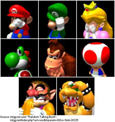 Supper Mario Broth On Twitter Losing Mugshots Of All