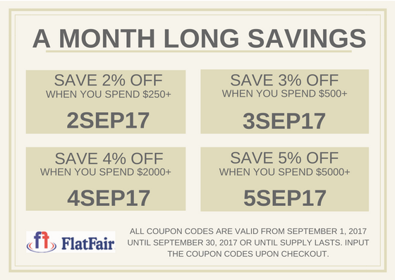 Flatfair coupon code