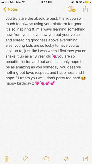 couldn\t fit it in a message, happy birthday z