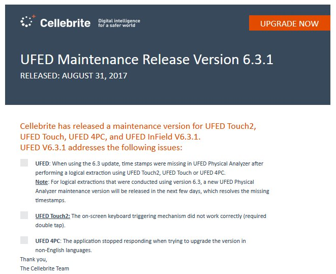 Ufed Releases