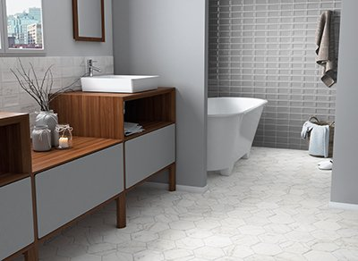 Carrara hexagonal tiles are available in different varieties to help beautify your home.  http:// ow.ly/J8ez30eQ7Vu  &nbsp;   #hexagonaltiles <br>http://pic.twitter.com/903bWfi03h