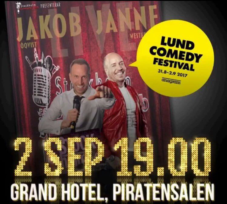 When in Lund! #LundComedyFestival