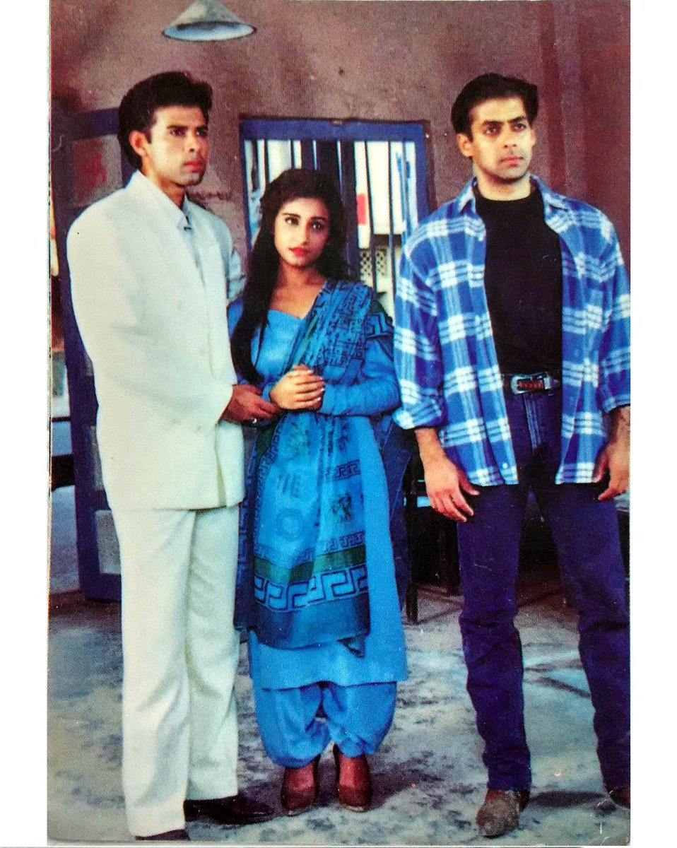 Movies N Memories On Twitter Salman Khan With Divya Dutt And