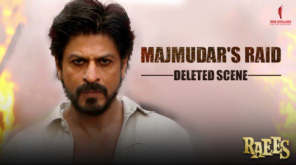 Majmudar's  persistence is unwavering! Watch this deleted scene from #Raees to know more about him → https://t.co/j7l57aeaWi https://t.co/vbZR0AYshc