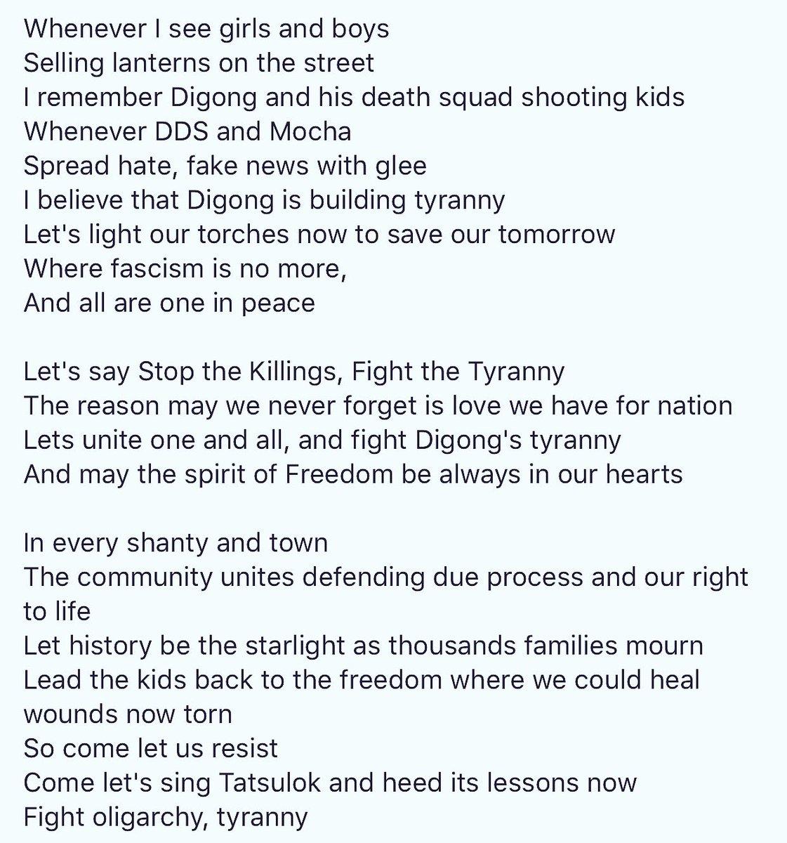 Light Of Christmas Lyrics.Tonyo Cruz On Twitter New Lyrics To The Pinoy Anthem Of