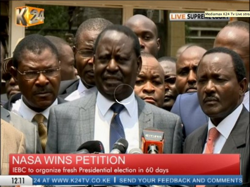 Raila: Like I said before, our journey to Caanan is unstoppable and we shall get there #SupremeCourtDecides https://t.co/dwttjcsaTP