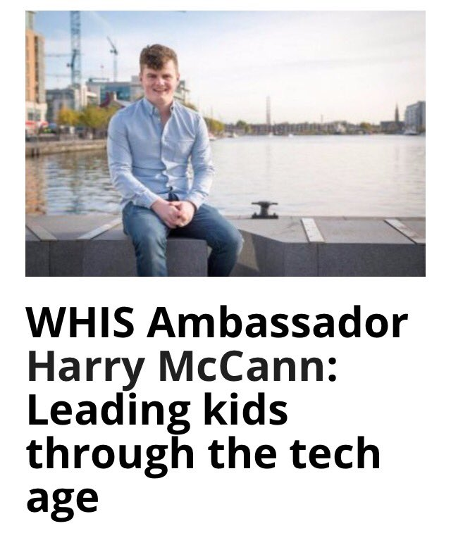 Big congratulations to @TheHarryMcC #WHISKids Ambassador  https://www. siliconrepublic.com/people/harry-m ccann-jci-award &nbsp; …  @WHIS_kids @EmpowerEduc @SASconsultancy1 @poons21<br>http://pic.twitter.com/n0PpCIqxLQ