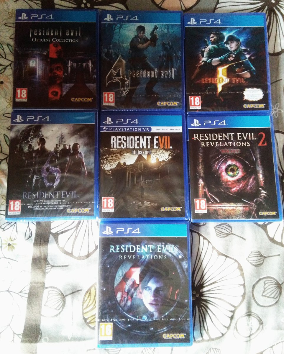 Residentevilcollection Hashtag On Twitter Resident Evil Revelations Ps4 Region 3 English 0 Replies 2 Retweets 7 Likes