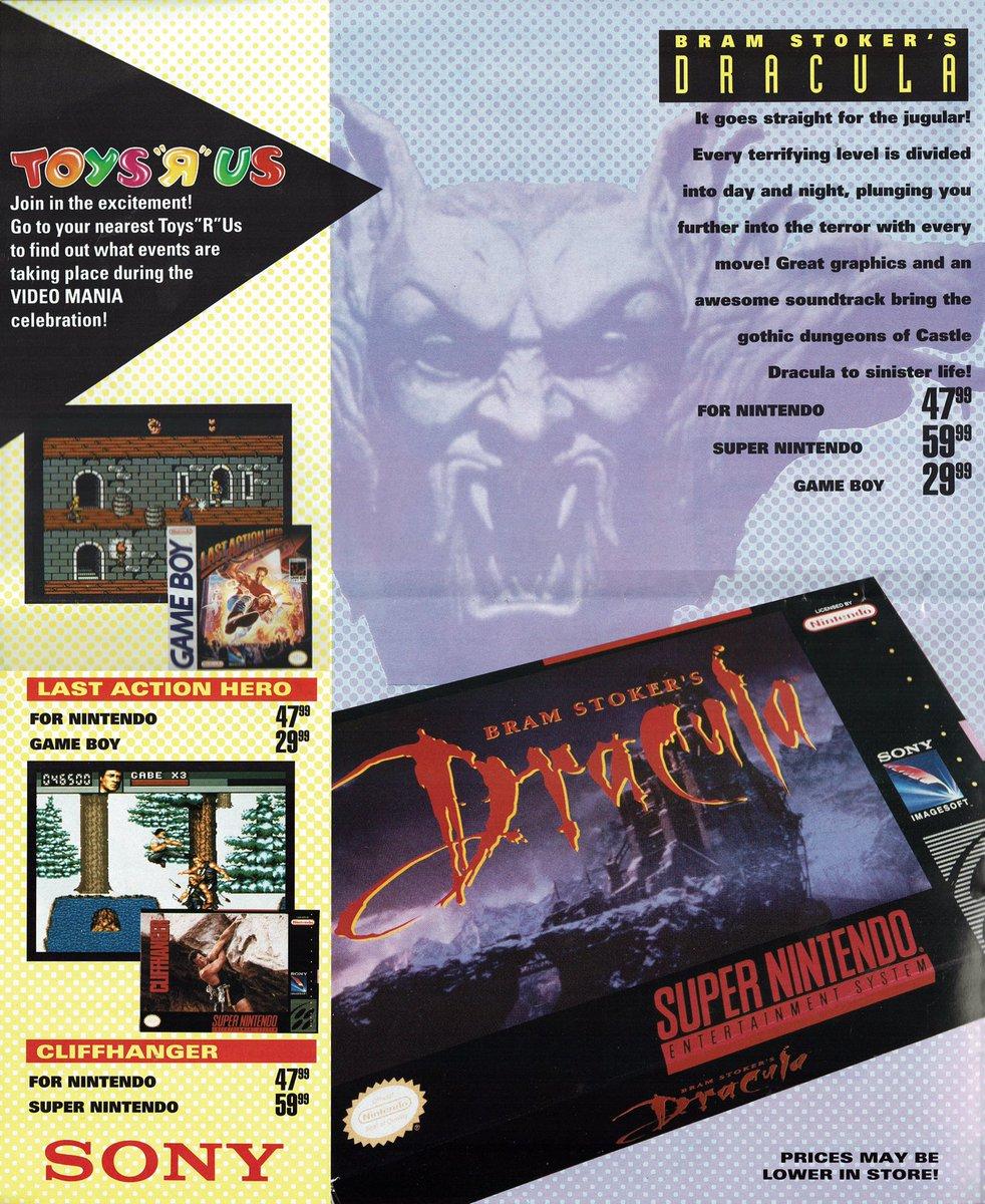 videogamearttidbits on twitter 90s toys r us nintendo catalog part 3 of 3