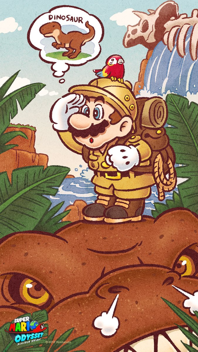 Gonintendotweet On Twitter Super Mario Odyssey New