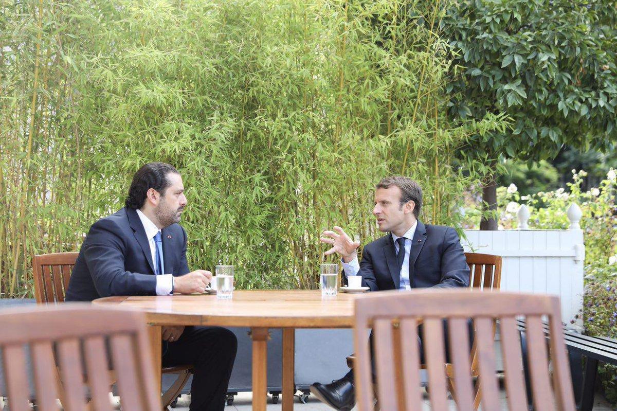Le Liban doit relever des défis majeurs. Vous pouvez compter sur la France pour accompagner le renforcement de votre État @saadhariri.