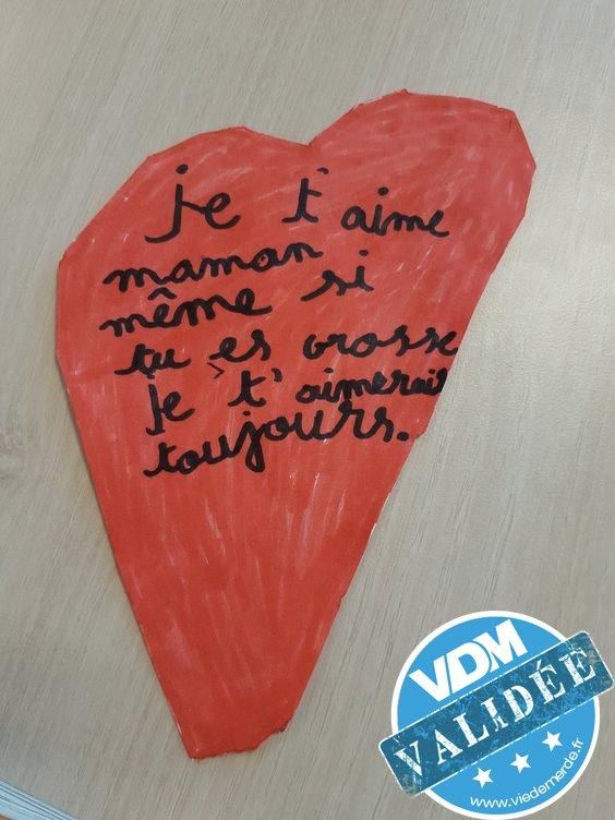 Comme c'est gentil de sa part ! #vdm #viedemerde #enfants