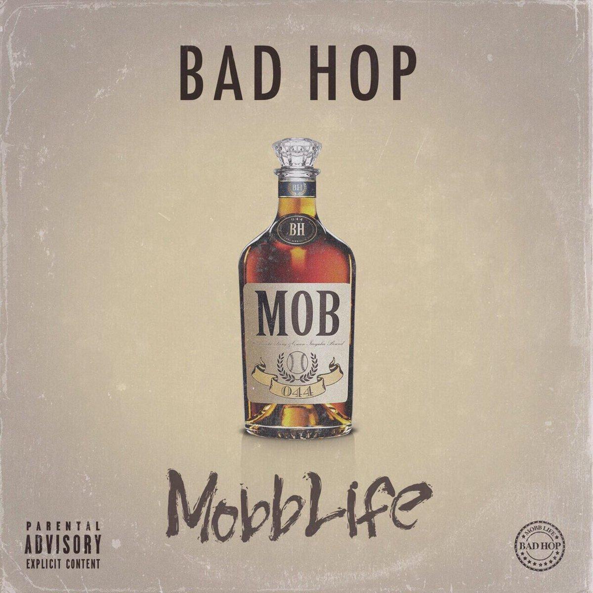 🚨New Audio公開🚨  BAD HOP New Album 「Mobb Life」から  「口だけ - YZERR & Benjazzy」  Official AudioがYouTubeにて公開🔥   https://t.co/VGtYq1FcuJ