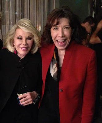 Happy birthday to the fantastic Lily Tomlin! Joan adored her! https://t.co/ehCkh2Sssp