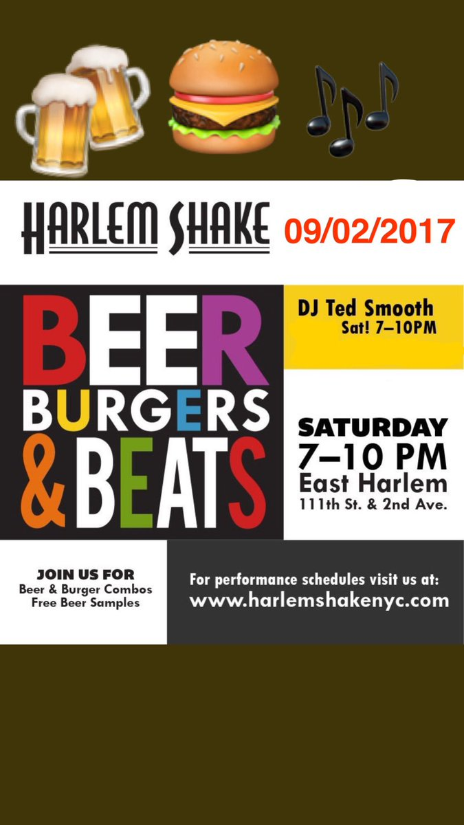 harlem shake on twitter finish the summer strong at beer burgers