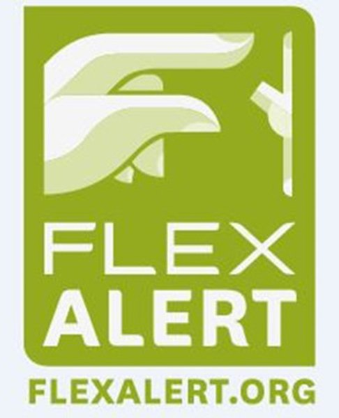 A statewide #FlexAlert has been issued. Please reduce your energy use from 1- 10 pm today. https://t.co/yTttOnSEMq