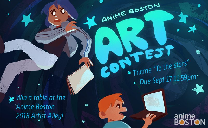 Anime Boston On Twitter Art Contest Deadline Is Coming Up Fast For Rules And Info How To Enter Visit Tco QQuMOgTH2c